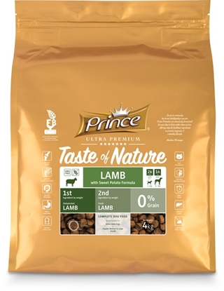 Picture of PRINCE TASTA OF NATURE LAMB 4KG