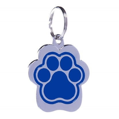 Picture of TAG RAINBOW PAW SMALL BLUE