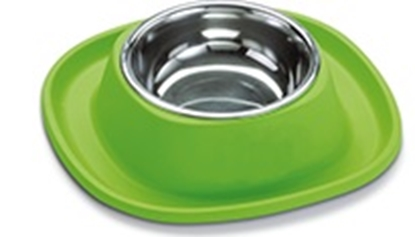 Picture of FREEDOG BOWL SILICONE w/ STAINLESS STEEL