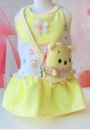 Picture of DOG DRESS WINNIE THE POOH PURSE