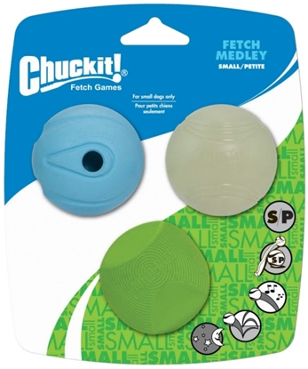 Picture of Chuckit Fetch Medley S 5cm 3 Pack