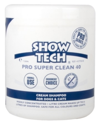 Picture of SHOW TECH PRO SUPER CLEAN 40 SHAMPO 1L