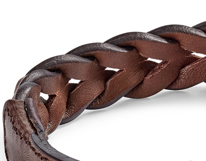 Picture of DOUBLE BRAIDED LEATHER LONG LEAD