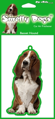 Picture of Basset Hound CAR AIR FRESHENER