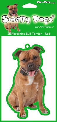 Picture of BULL TERRIER CAR AIR FRESHENER