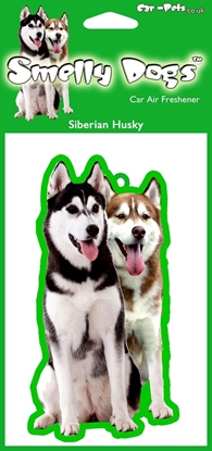 Picture of SIBERIAN HUSKY CAR AIR FRESHENER