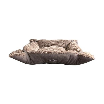 Picture of Doggy Super Soft Bed Brown