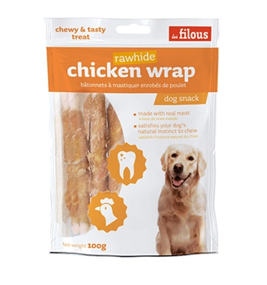 Picture of LE FILOUS CHICKEN WRAP RAWHIDE